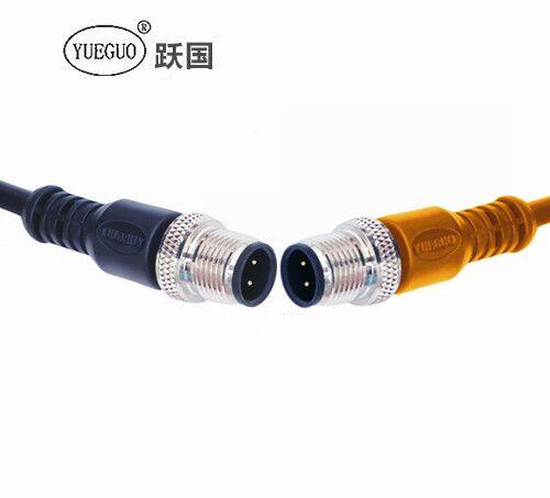 M12连接器4针直头