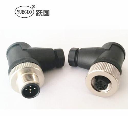 M12螺钉连接器